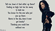 Halsey - Without Me (unofficial lyric video) winter 2019