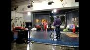 Dani Dimitrov gost v Italia tv Telerama v sledobednoto tok show