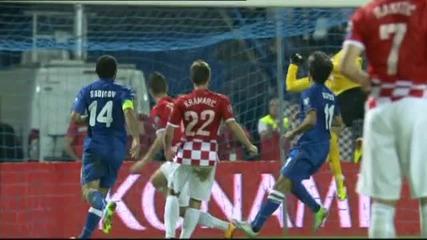Подробен ВИДЕО репортаж: Хърватия - Азербайджан 6:0