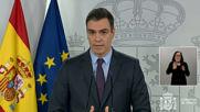 Spain: Sanchez announces request to prolong state of emergency till April 26