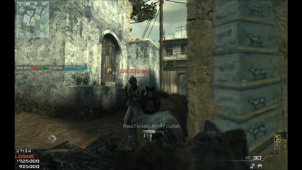 Call of Duty Modern Warfare 3 with Slow Motion