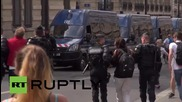 France: 20 protesters arrested at Bastille Day military parade