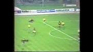 1985-86 Uefa Cup - Lokomotive Leipzig - Ac Milan