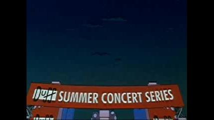 Семейство Симпсън - Пеят Green Day