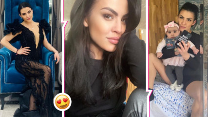 Деси Цонева в перфектна форма месеци след раждането