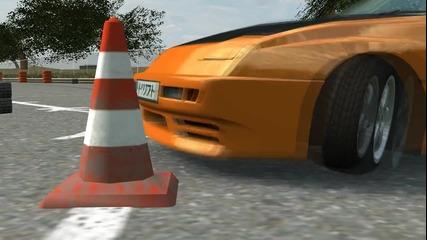 Дрифт в Live for Speed с оригиналните сетъпи