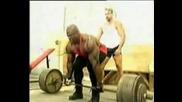 Рони Колман На Мъртва Тяга 800lbs (363 kg)