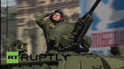 Russia: Watch new high-tech armour roll through Red Square on Victory Day