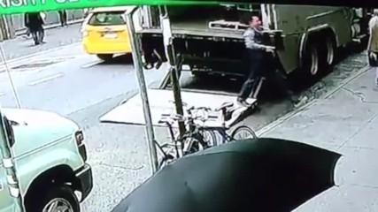 Мъж отмъкна кофа със злато