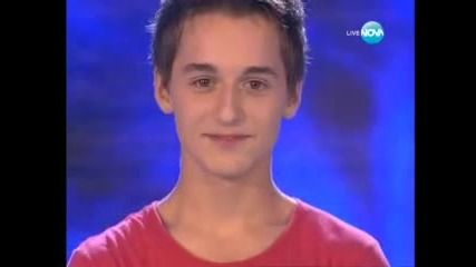 Богомил Бонев изуми България - X Factor Bulgaria 27.09.2011