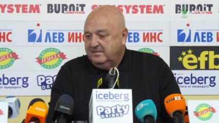 Венци Стефанов за уволнението на Акрапович: Изненадан? Това бе предизвестена смърт