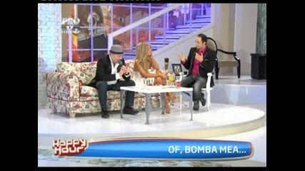 Андреа и Кости (sahara) в румънско шоу - Happy Hour Protv