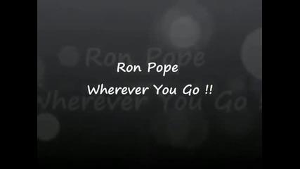 + превод ! Ron Pope - Wherever You Go