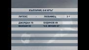 """""""Литекс"""" излезе на втора позиция след  2:1 срещу """"Любимец"""""""