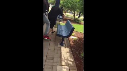 Ученик преби учителя си