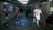 Messi, Alves и Cuenca имат лек проблем с шортите /смях/