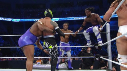 Bodies fly as The New Day competes in 8-man tag action: SmackDown, June 25, 2015