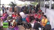 Nicaragua: Hundreds of Cubans stranded at Penas Blancas border