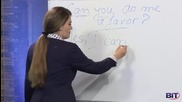 Аз уча английски език . Сезон 1, Епизод 46 , урок 32 на български