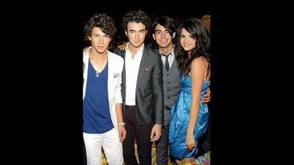 Jonas Brothers,  Demi Lovato and Selena Gomez