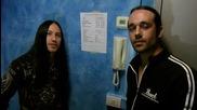 Поздрав за българските фенове на Morbid Angel и Nile от техните барабанисти
