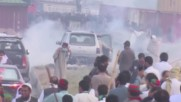Pakistan: Violence breaks out after police ambush PTI convoy in Hazro