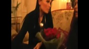 Tarja Turunen and her fan in Moscow Hotel Korston 05.11.2008.