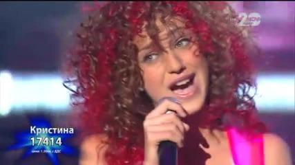 Кристина Дончева - X Factor Live (21.10.2014)