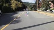 Оптична илюзия усмирява безотговорни шофьори