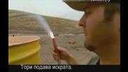Ловци на митове - Популярни митове по интернет - Оръдие с талаш - S06e11 - с Бг превод