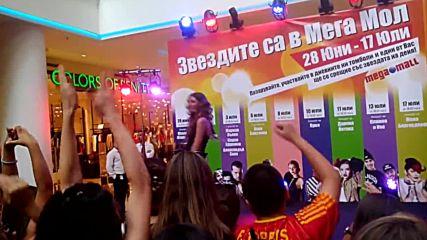 Концерт на Дивна в Megamall Sofia