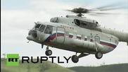 Russia: Putin takes chopper trip over Khakassia to inspect rebuilding work