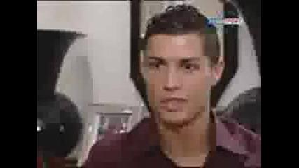 Кристиано Роналдо Говори За Златната Топка