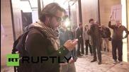 USA: Activists storm Bill Ackman's penthouse lobby, demanding justice