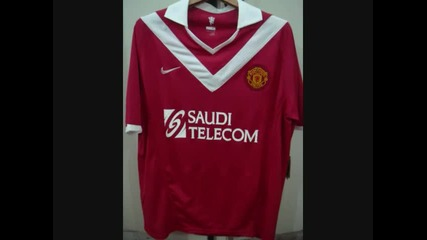 Football kits 2010 - 2011