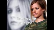 Avril Lavigne - Runaway With Lyrics