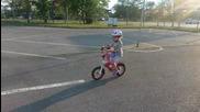 Савина без помощни колела