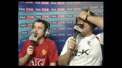 Fanzone Manchester United v Bolton Gay Guy.avi