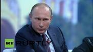 Путин: Никой не може да говори с Русия с ултиматуми