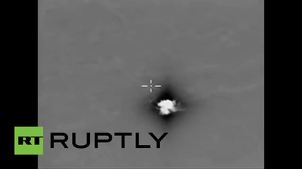 Syria: Russian airstrikes destroy ISIS infrastructure