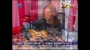 Indira Radic - Dve muzike - (LIVE) - Promocija - (TV Dm Sat 2012)