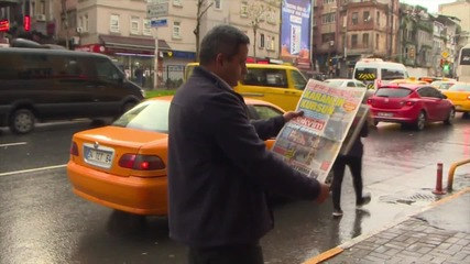 Turkey: Police patrol central Istanbul the morning after violent protests