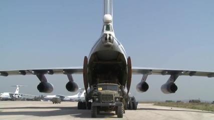 Syria: Russian military support humanitarian air drop to Deir-ez-Zor