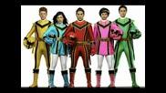 снимки на Power Rangers Mystic Force