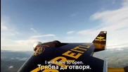 Top Gear - Летящият човек срещу Skoda Fabia Super 2000
