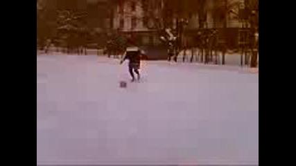 Fotbol V Snega S Men