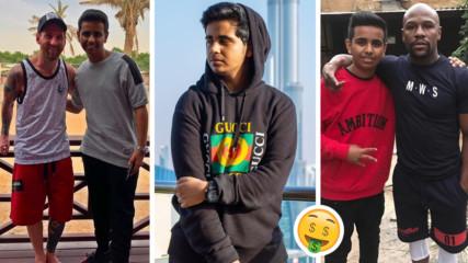Той ли е най-богатото дете в света? Момче от Дубай се хвали с 2 млрд. долара от свой бизнес