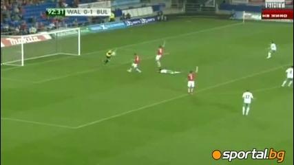 България спечели много важен мач срещу Уелс: Уелс 0:1 България 8/10/10