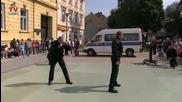 Демонстрация на специални полицейски части в Хърватия