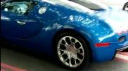 Bugatti Veyron Grandsport по улиците на Лондон